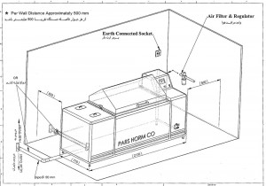 نصب دستگاه سالت اسپری